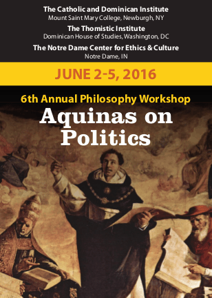 Philosophy Workshop Aquinas On Politics