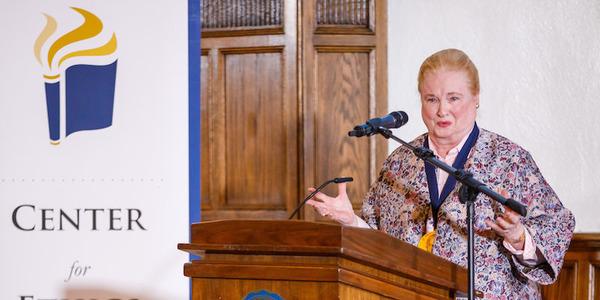 Mary Ann Glendon Evangelium Vitae Speech 2018