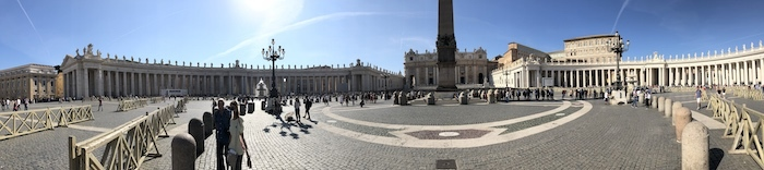 St Peters Colonnade
