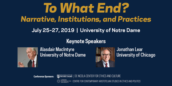 2019 Conference - To What End