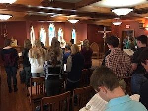Mass In Geddes Chapel